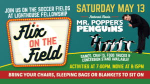 """Flix on the Field"" Movie Night @ Soccer field"