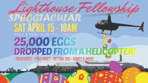 Easter Speggtacular @ Lighthouse Fellowship | Fort Worth | Texas | United States