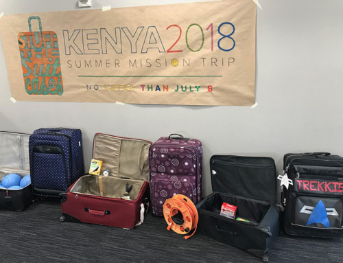"Kenya ""Stuff the Suitcase"" Supply List"