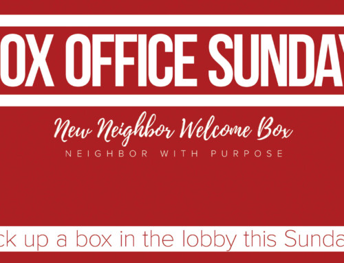 New Neighbor Welcome Boxes